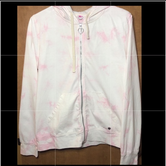 Juicy couture pink tie dye sweater